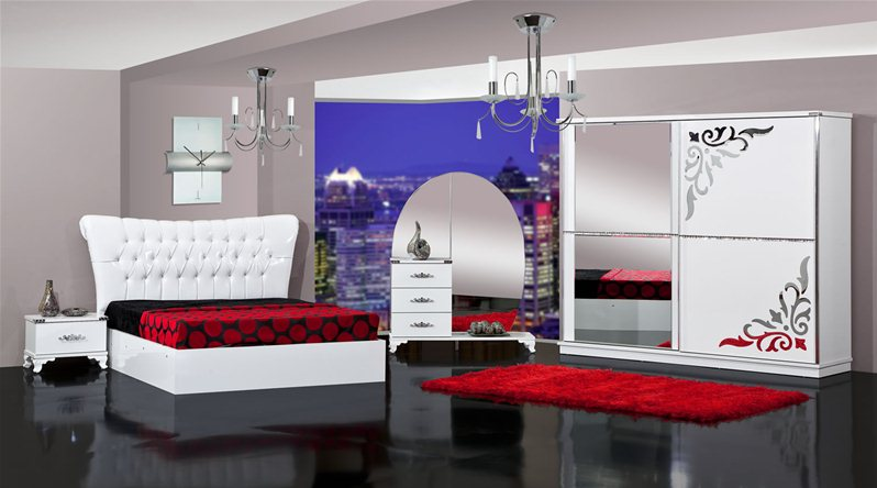 Tapis Chambre Bebe Chouette : Meuble Chambre A Coucher Turque  DNT306I01ChambreacoucherDamla