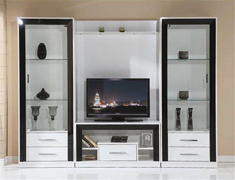 meuble tv yakut 810. Black Bedroom Furniture Sets. Home Design Ideas